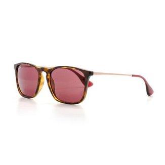 7a65386b2 Óculos de Sol Ray Ban Quadrado Lente Acrílico Feminino