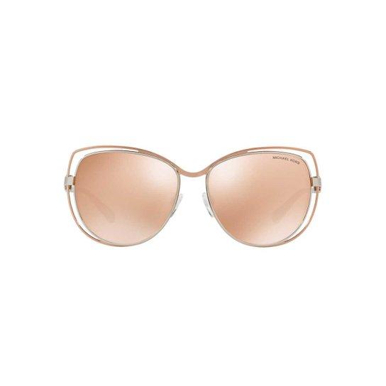 Óculos de Sol Michael Kors Gatinho MK1013 Audrina I Feminino - Rosa e622ba883a
