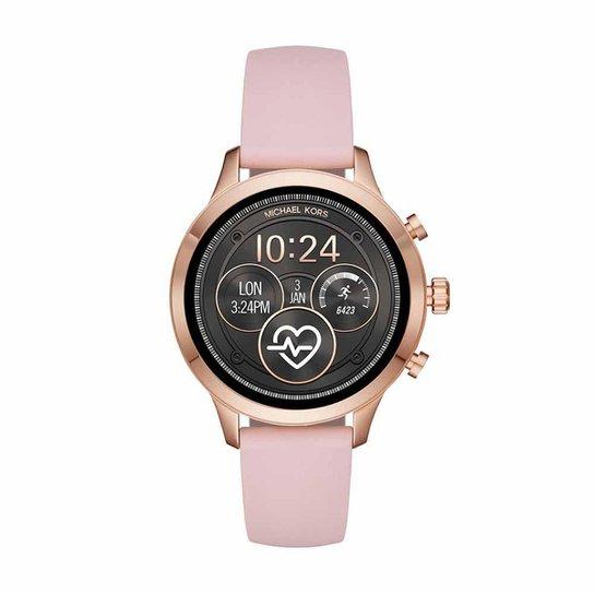 0cce5d9cb Smartwatch Michael Kors Runway Feminino - Rosa - Compre Agora | Zattini