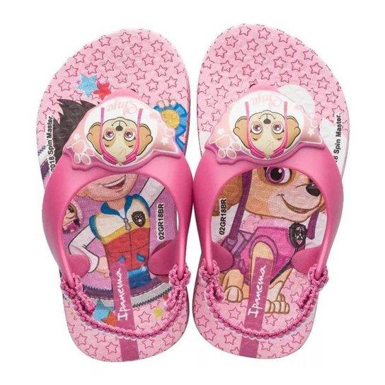 221075fb80 Chinelo Infantil Grendene Kids Patrulha Canina Feminina - Compre ...