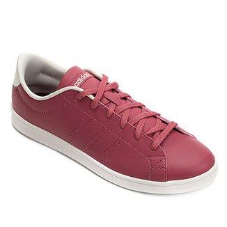 6460b0095f3 Tênis Adidas Advantage Clean Qt Feminino