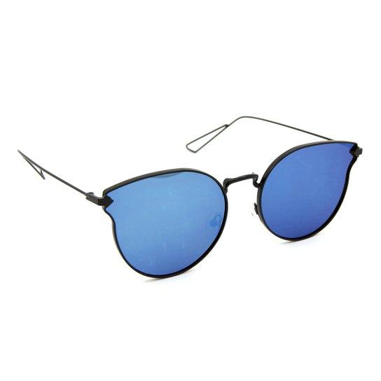 Óculos Bijoulux de Sol com Lente Espelhada - Compre Agora   Zattini ff8edc139a
