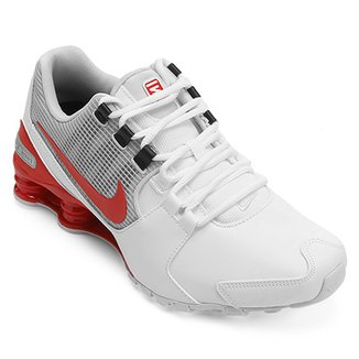 best service 7bcef e15f0 Tênis Couro Nike Shox Avenue LTR Masculino