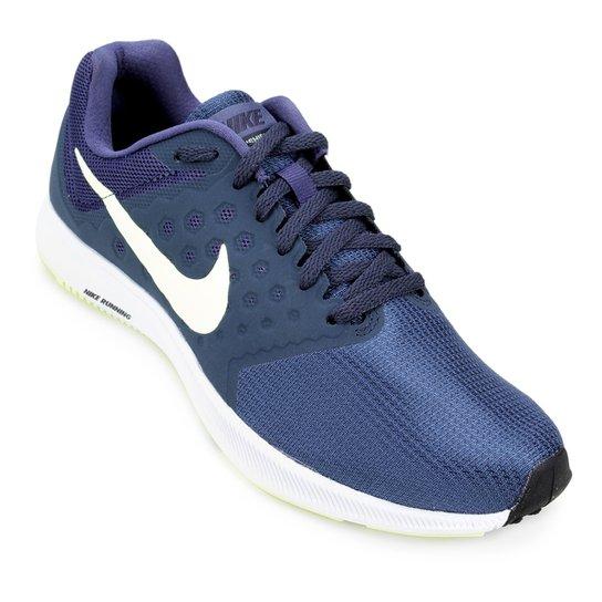 265057f8f8 Tênis Nike Downshifter 7 Feminino - Azul e Verde | Zattini