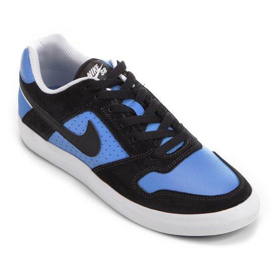 Tênis Nike SB Delta Force Vulc Masculino - Preto e Azul - Compre ... b797709a9ef