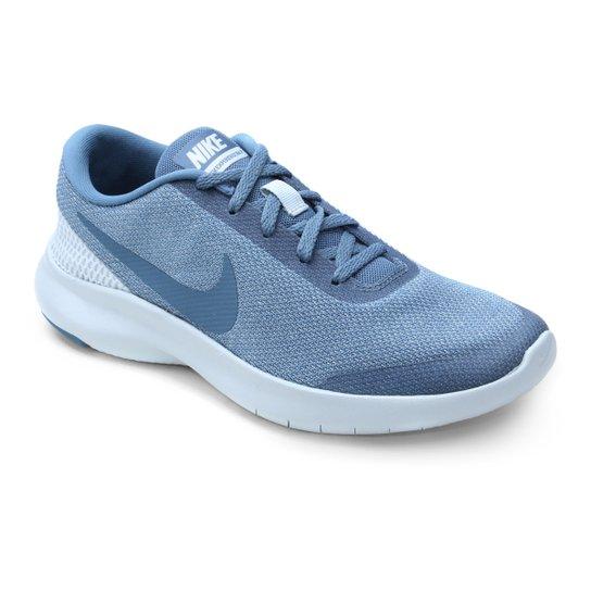 046b4fdb73b Tênis Nike Flex Experience RN 7 Feminino - Azul e Azul claro ...
