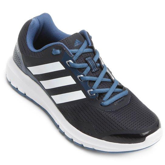 4e69c17cb Tênis Adidas Duramo 7 Feminino - Preto e Azul | Zattini