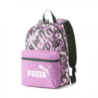 f1fd3120948 Mochila Infantil Puma Phase Small Backpack Feminina