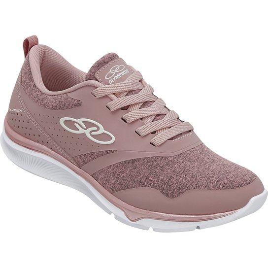 cd63b9d2f72 Tênis Olympikus Flower 415 Feminino - Rosa - Compre Agora