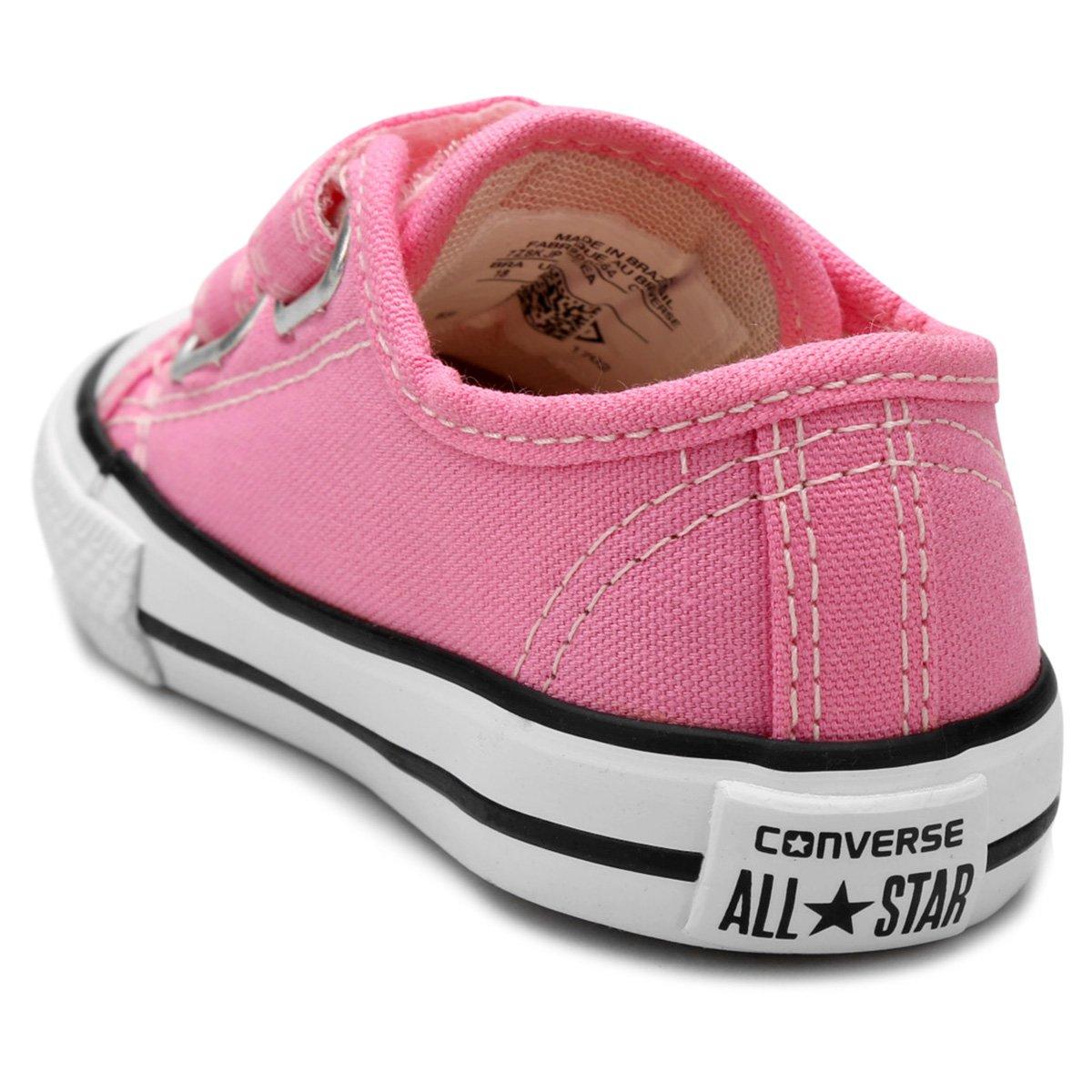 f1a9ba2c9e6 Tênis Infantil Converse All Star CT Border 2 Velcros Baby