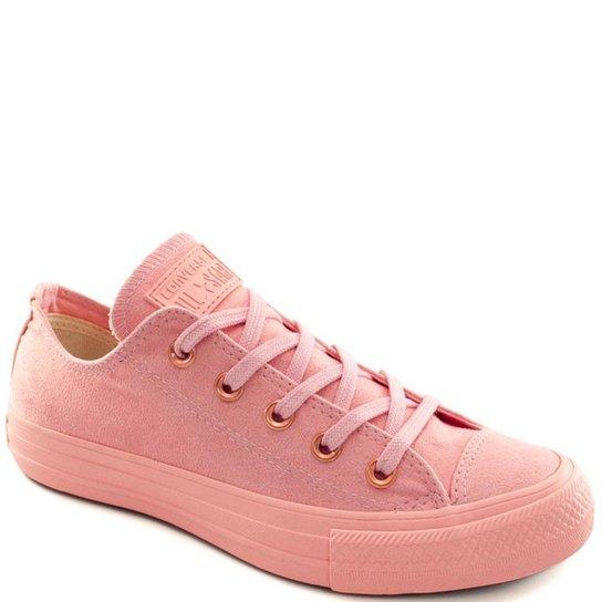 d781f30fee3 Tênis Converse Chuck Taylor All Star Ox Feminino - Rosa - Compre ...