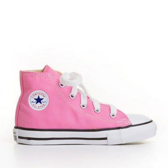 e76e054e252 Tênis Infantil Converse All Star Infantil Feminino - Rosa - Compre ...