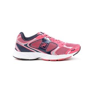 2b660da064c Tênis Esporte Feminino Fila Reach Preto rosa