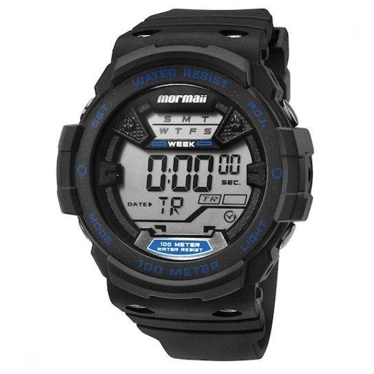 dfe19b3d34db0 Relógio Mormaii Digital Wave MO3500A8A Preto Azul - Compre Agora ...