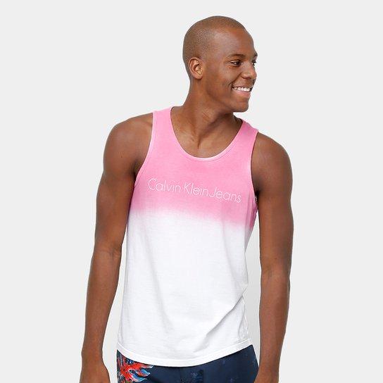 b228533f079fd Regata Calvin Klein Degradê Masculina - Compre Agora   Zattini