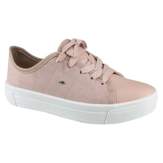 4a5ed76fe Tênis Feminino Dakota Flatform - Rosa - Compre Agora