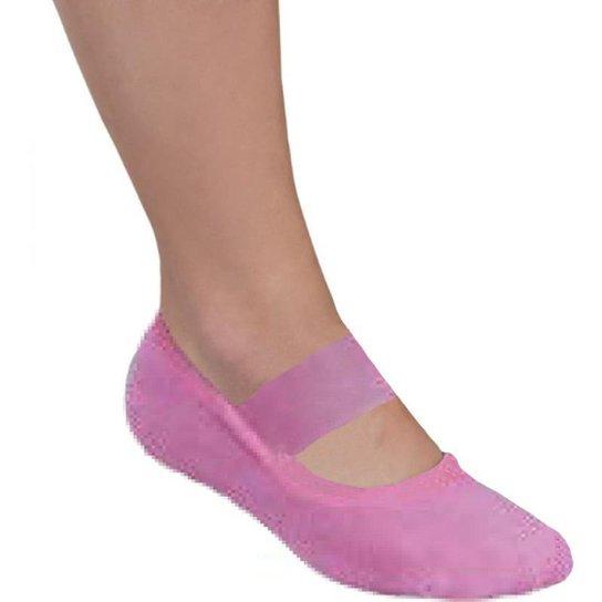 85179475f Meia Pilates Lupo Antiderrapante Feminina - Rosa - Compre Agora ...