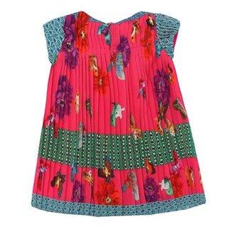 3189b1ad80 Vestido Floral Plissado 1mais1