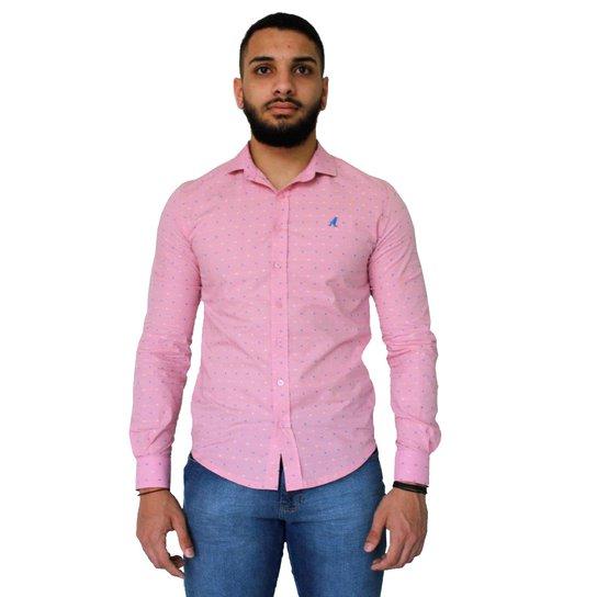 e7cbc868e7 Camisa Social Slim Estampada 3001 - Compre Agora   Zattini