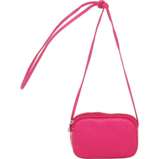 ca92fb4f061 Mini Smart Bag Bolsa Luxo Transversal - Rosa - Compre Agora