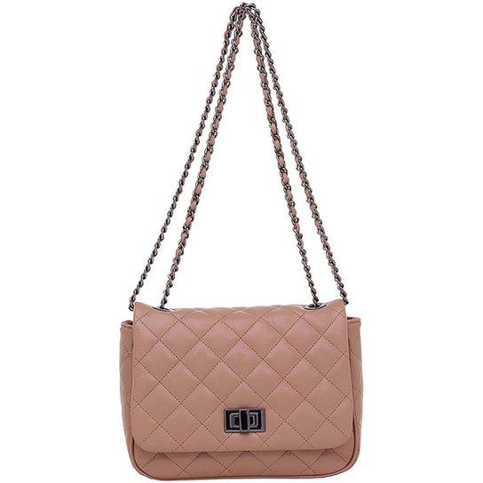 eac3cfc417c Bolsa Smartbag Correntes Trasnversal - Rosa - Compre Agora