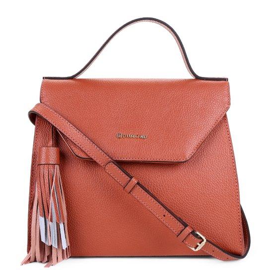 afe80d1f3 Bolsa Couro Dumond Handbag Feminina - Rosa - Compre Agora | Zattini