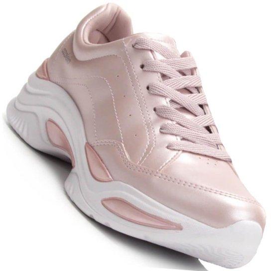 427ec0b33 Tênis Azaleia Chunky Sneaker Feminino - Rosa - Compre Agora
