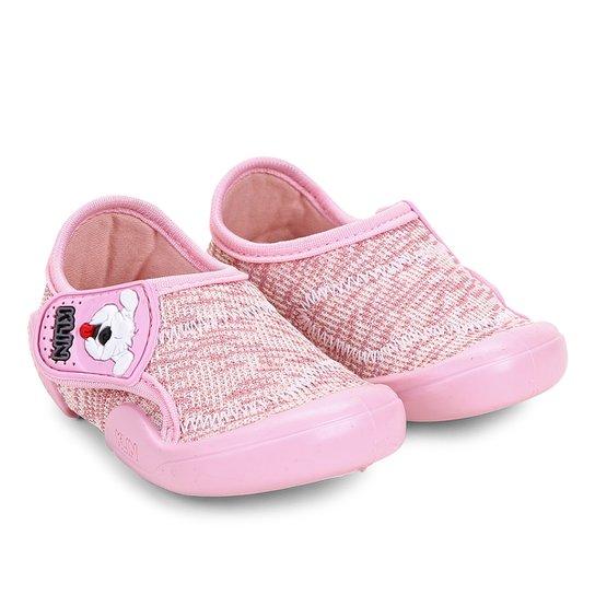 dea5994e28 Tênis Infantil Klin New Confort Feminino - Rosa - Compre Agora