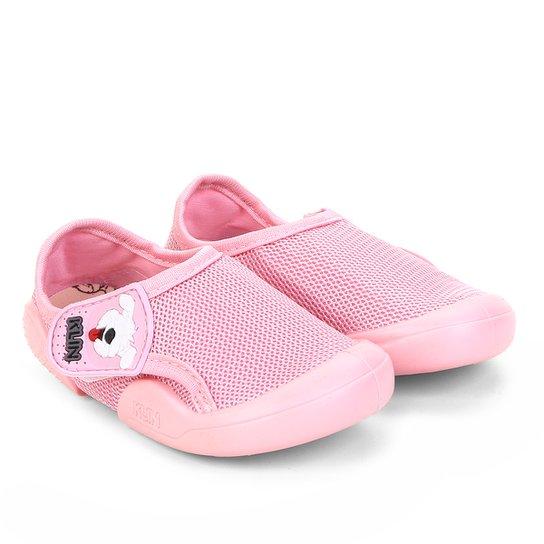 5c75678208 Sapato Infantil Klin New Confort Feminino - Rosa