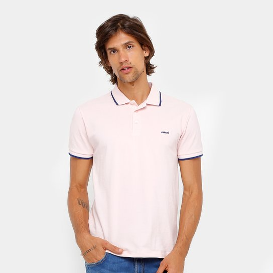 555df34391e Camisa Polo Colcci Bordado Masculina - Compre Agora