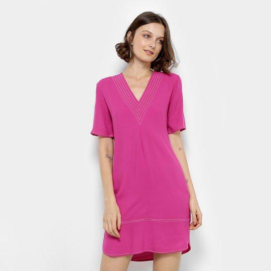 b1a7e36498 Vestido Colcci Fendas Feminino - Rosa - Compre Agora