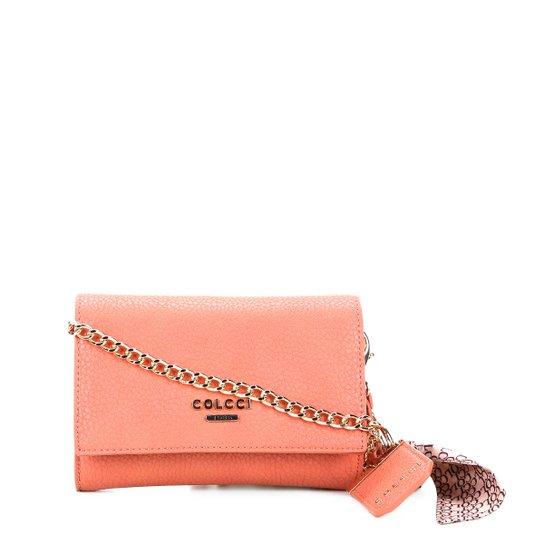 Bolsa Colcci Mini Bag Alça Corrente Chaveira Feminina - Compre Agora ... 6d8775dfbdc