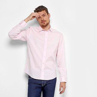 657ef18896 Camisa Colcci Slim Elastano Masculina
