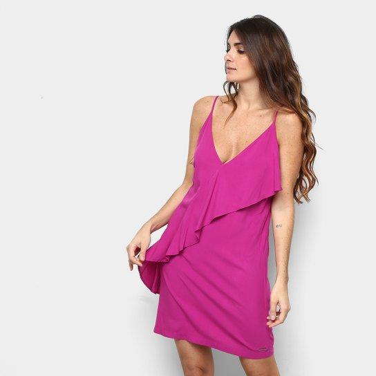 cfa78c26f7 Vestido Colcci com Babado Feminina - Compre Agora