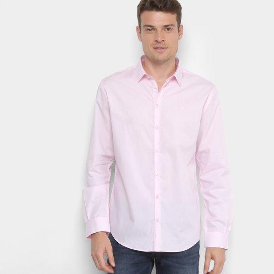 e3ab9c73f4 Camisa Social Forum Smart Masculina - Rosa Claro | Zattini