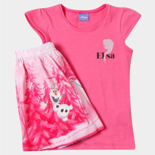 0140e9f9d Conjunto Brandili Frozen Infantil - Compre Agora
