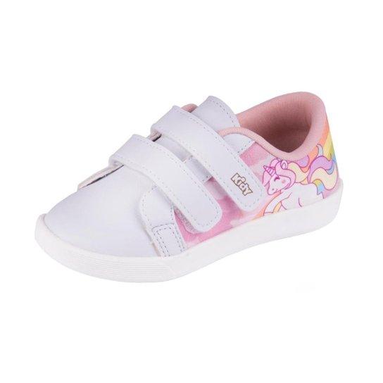 ea3b24736e7 Tênis Infantil Kidy Love Baby Feminino - Rosa - Compre Agora