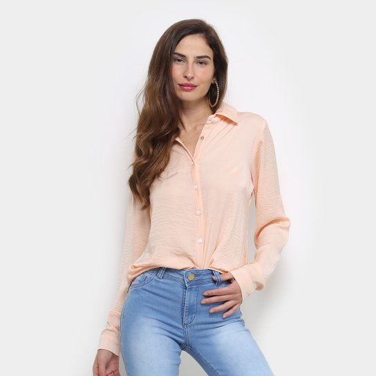 2ed5e58d37dbe Camisa Forwhy Lisa Manga Longa Feminina - Compre Agora