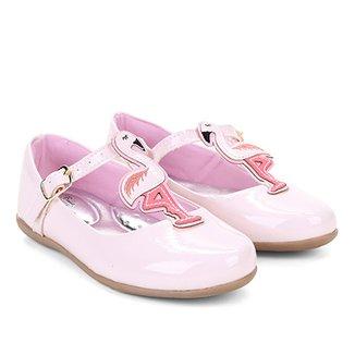 9a087eca1 Sapatilha Infantil Bella Ninna Flamingo Feminina