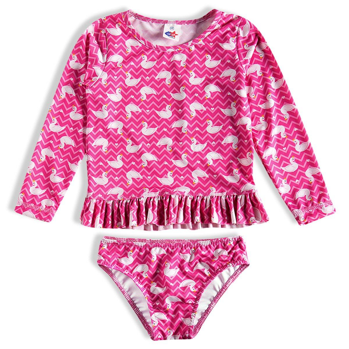 Conjunto Praia Toddler Tip Top Estampado Feminino