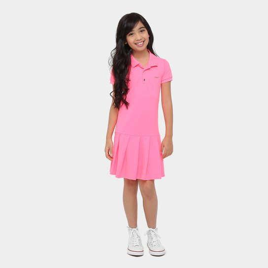Vestido Lilica Ripilica Polo Infantil - Compre Agora   Zattini e102cdf93a