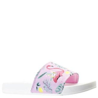 08021b4e427 Chinelo Slide Capricho Flamingo