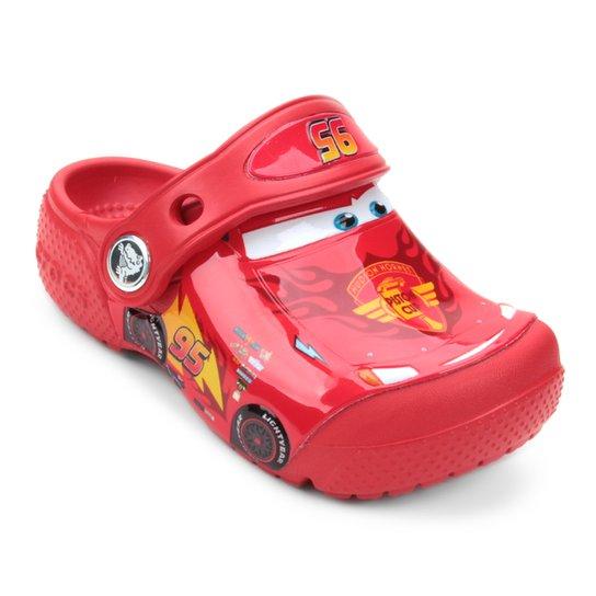 Sandália Crocs Infantil Carros McQueen - Compre Agora   Zattini 7a6469b7fc