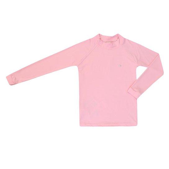 Camiseta Kids Proteção UV 50+ Siri Feminina - Rosa - Compre Agora ... d18ef19eef803