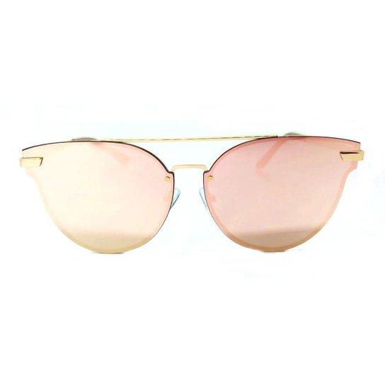 6be57a852 Óculos De Sol Feminino Fashionista Espelhado Original | Zattini