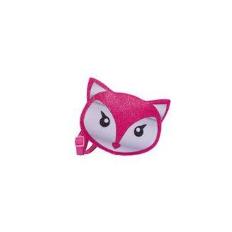 5864fc5fb Bolsa Infantil Princesa Pink Bolsa Raposa Glitter