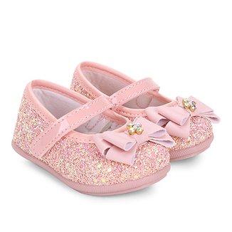 Sapato Infantil Pimpolho Fase 21 Feminino 724a0d03d4