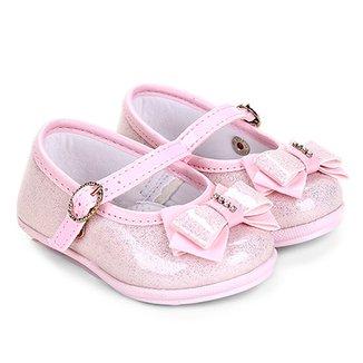 060868a98e Sapato Infantil Pimpolho Glitter Feminino