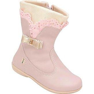bf816a11f0 Bota Infantil Plis Calçados Feminina