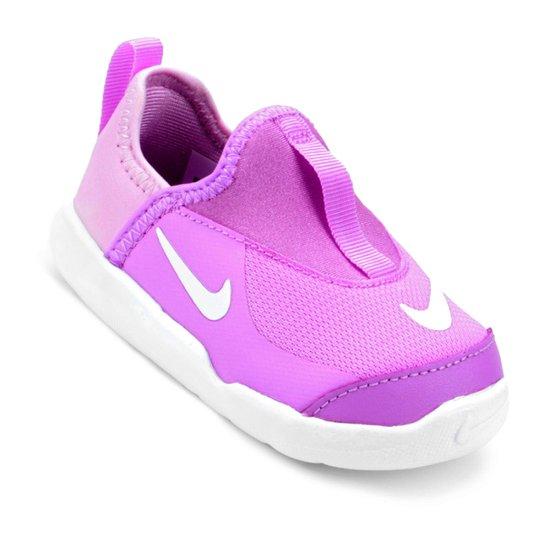 7b5738e8e07ba Tênis Infantil Nike Lil Swoosh Feminino - Rosa | Zattini